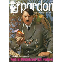 pardon Heft 6 / Juni 1972 - Kein Grund zur Aufregung