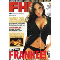FHM September 2004 - Frankee!