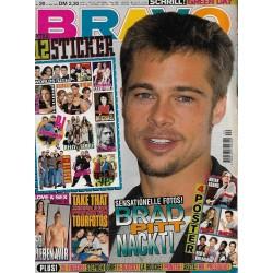 BRAVO Nr.20 / 11 Mai 1995 - Brad Pitt nackt!