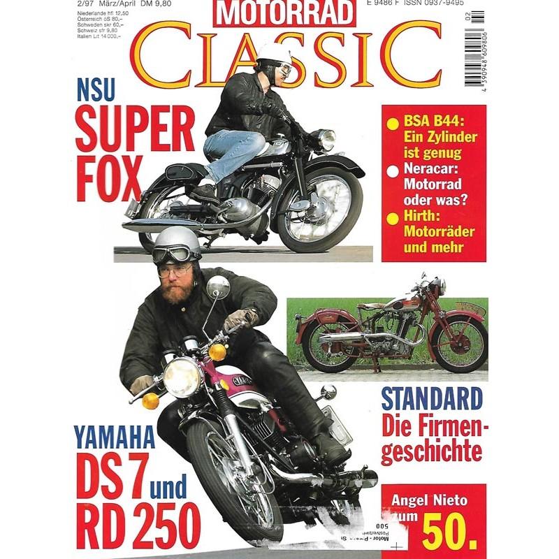 Motorrad Classic 2/97 - März/April 1997 - NSU Super Fox