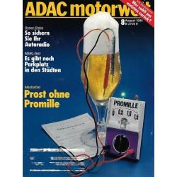 ADAC Motorwelt Heft.8 / August 1986 - Prost ohne Promille