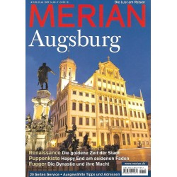 MERIAN Augsburg 7/64 Juli 2011