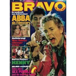 BRAVO Nr.35 / 18 August 1977 - Alles über Sex Pistols
