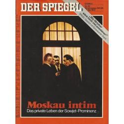 Der Spiegel Nr.22 / 24 Mai 1971 - Moskau intim