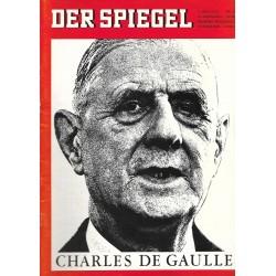 Der Spiegel Nr.24 / 9 Juni 1965 - Charles De Gaulle