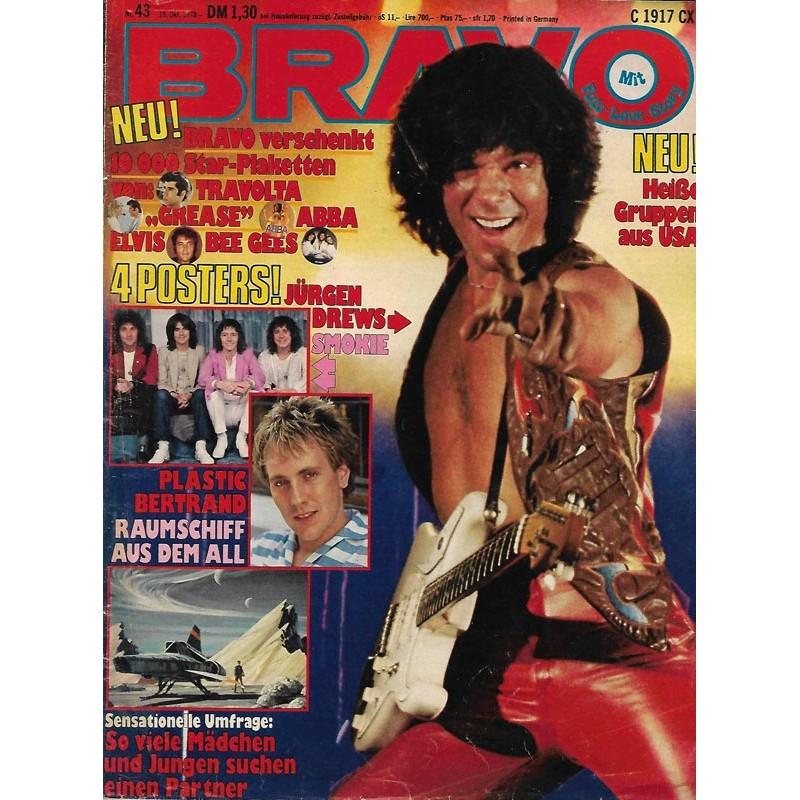 BRAVO Nr.43 / 19 Oktober 1978 - Jürgen Drews