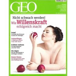 Geo Nr. 9 / September 2013 - Willenskraft