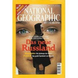 NATIONAL GEOGRAPHIC November 2001 - Das neue Russland