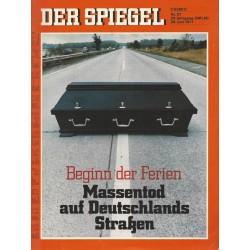 Der Spiegel Nr.27 / 28 Juni 1971 - Beginn der Ferien