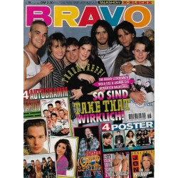 BRAVO Nr.18 / 27 April 1995 - So sind Take That wirklich