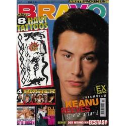 BRAVO Nr.47 / 17 November 1994 - Keanu Reeves ganz intim!