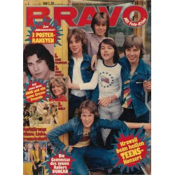 BRAVO Nr.1 / 27 Dezember 1978 - Krawall beim heißen TEENS Konzert