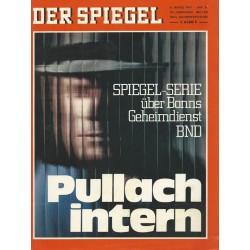 Der Spiegel Nr.11 / 8 März 1971 - Pullach intern