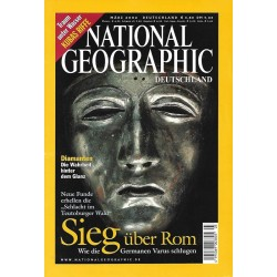 NATIONAL GEOGRAPHIC März 2002 - Sieg über Rom