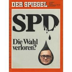 Der Spiegel Nr.29 / 10 Juli 1972 - SPD - Die Wahl verloren?