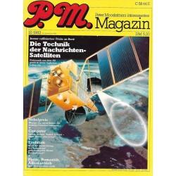 P.M. Ausgabe Dezember 12/1983 - Nachrichten-Satelliten