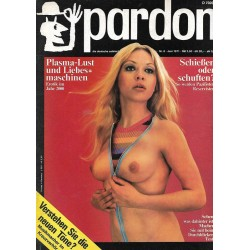 pardon Heft 6 / Juni 1971 - Sehen was dahinter ist!
