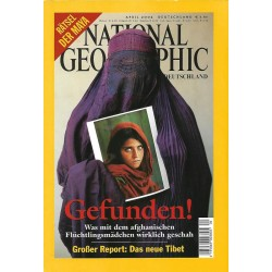 NATIONAL GEOGRAPHIC April 2002 - Gefunden!