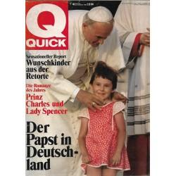 Quick Nr.48 / 20 November 1980 - Der Papst in Deutschland