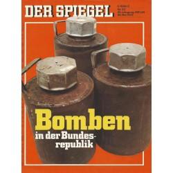 Der Spiegel Nr.23 / 29 Mai 1972 - Bomben in der Bundesrepublik
