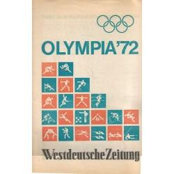 Olympia 1972 - Westdeutsche Zeitung