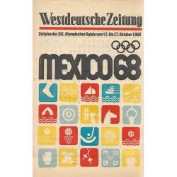 Mexico 1968 - Westdeutsche Zeitung