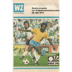 Weltmeisterschaft 1974 - Westdeutsche Zeitung