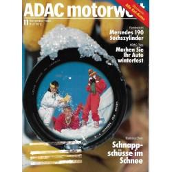 ADAC Motorwelt Heft.11/ November 1986 - Schnappschüsse im Schnee