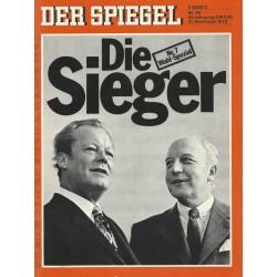 Der Spiegel Nr.48 / 21 November 1972 - Die Sieger