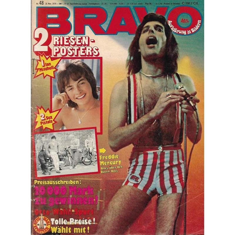BRAVO Nr.48 / 18 November 1976 - Freddie Mercury