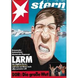 stern Heft Nr.42 / 12 Oktober 1989 - Lärm