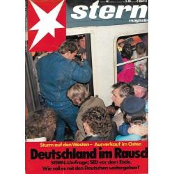 stern Heft Nr.48 / 23 November 1989 - Deutschland im Rausch