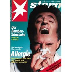 stern Heft Nr.32 / 3 August 1989 - Allergie