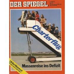 Der Spiegel Nr.27 / 26 Juni 1972 - Charterflug