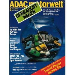 ADAC Motorwelt Heft.3 / März 1985 - Gebrauchtwagen