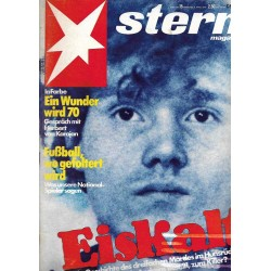stern Heft Nr.15 / 6 April 1978 - Eiskalt