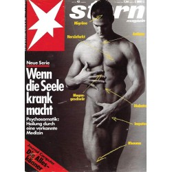 stern Heft Nr.43 / 19 Oktober 1989 - Wenn die Seele krank macht
