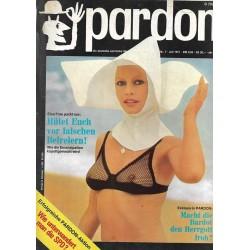 pardon Heft 7 / Juli 1971 - Macht die Bardot den Herrgott froh?
