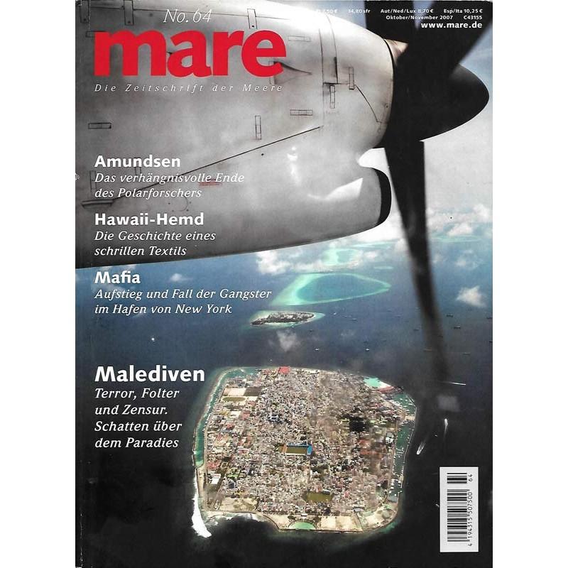 mare Malediven No.64 Oktober / November 2007