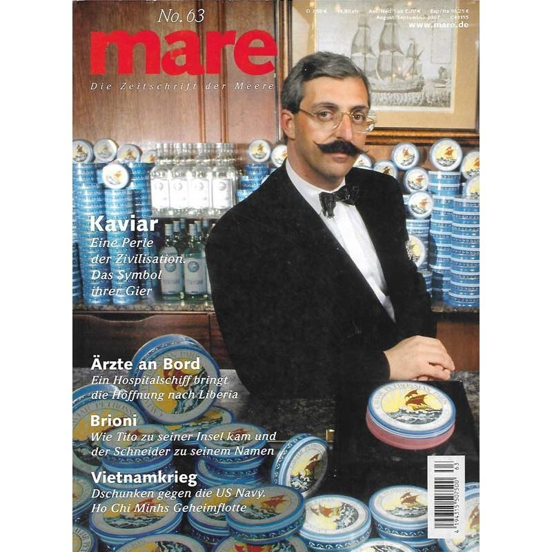 mare No.63 August / September 2007 Kaviar