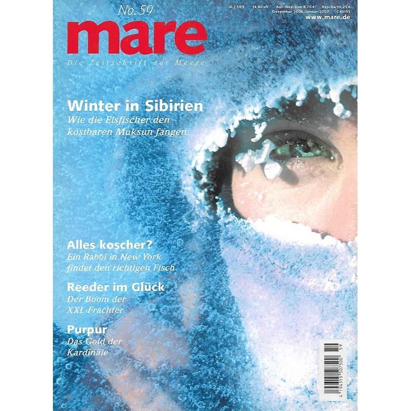mare No.59 Dezember / Januar 2007 Winter in Sibirien