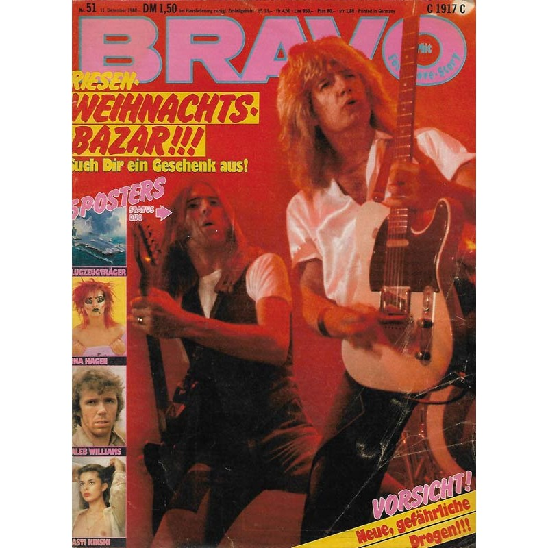 BRAVO Nr.51 / 11 Dezember 1980 - Status Quo