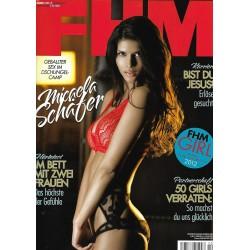 FHM Februar 2012 - Michaela Schäfer