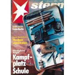 stern Heft Nr.8 / 18 Februar 1993 - Kampfplatz Schule