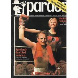 pardon Heft 8 / August 1971 - Spiel mir das Lied vom k.o.