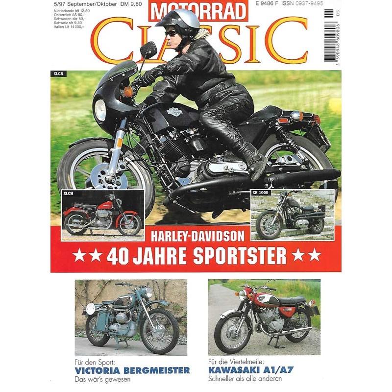 Motorrad Classic 5/97 - Sep./Okt 1997 - Harley Davidson