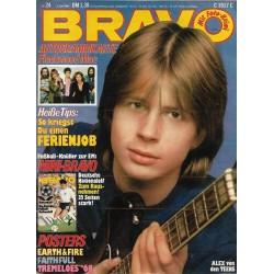 BRAVO Nr.24 / 5 Juni 1980 - Alex von den Teens