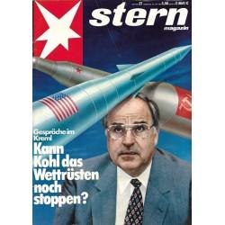 stern Heft Nr.27 / 30 Juni 1983 - Gespräche im Kreml