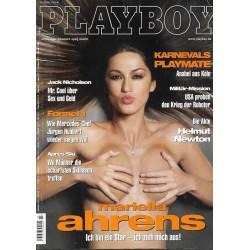 Playboy Nr.3 / März 2004 - Mariella Ahrens