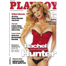 Playboy Nr.6 / Juni 2004 - Rachel Hunter